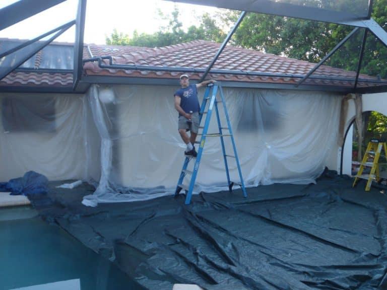 More ladder work